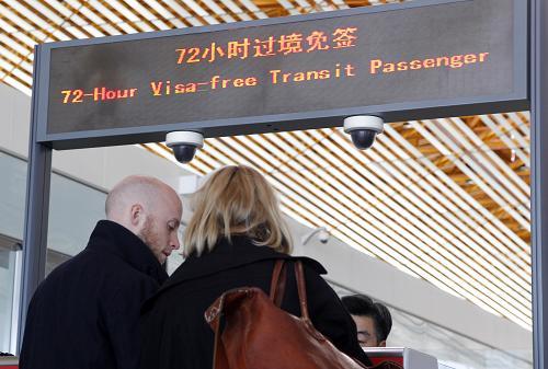 72 hours visa-free transit passengers