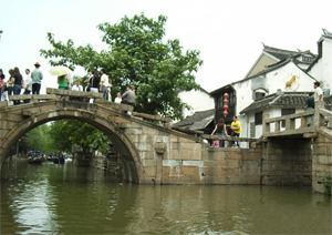 Twin Bridges - Zhouzhuang Water Town