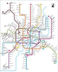 Shanghai Subway Map, Shanghai Metro Map